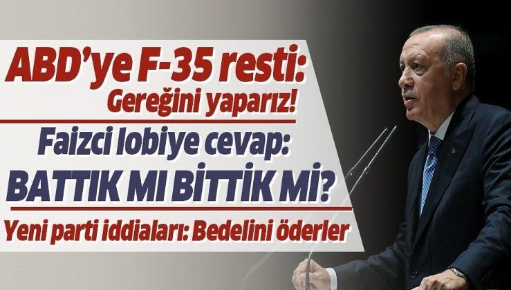 Erdoğan: Ne pahasına olursa olsun Türkiye gemisinde delik açtırmayacağız!