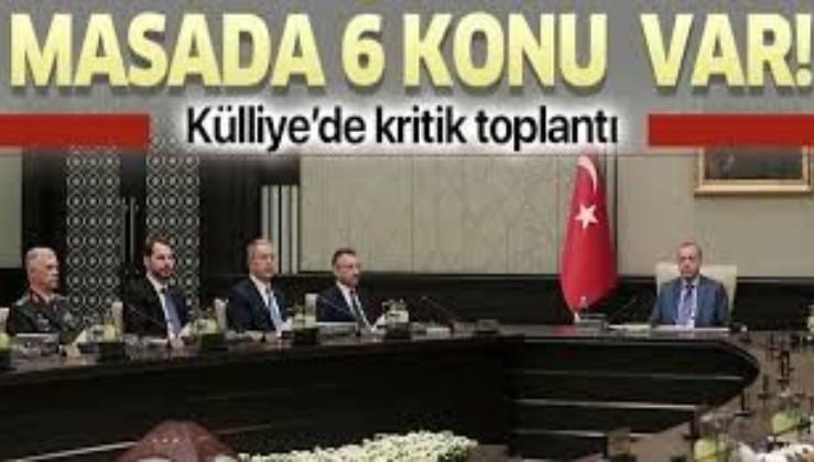 Kritik MGK Erdoğan'ın liderliğinde toplanacak! İşte masadaki konular