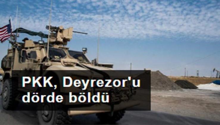 PKK, Deyrezor'u dörde böldü