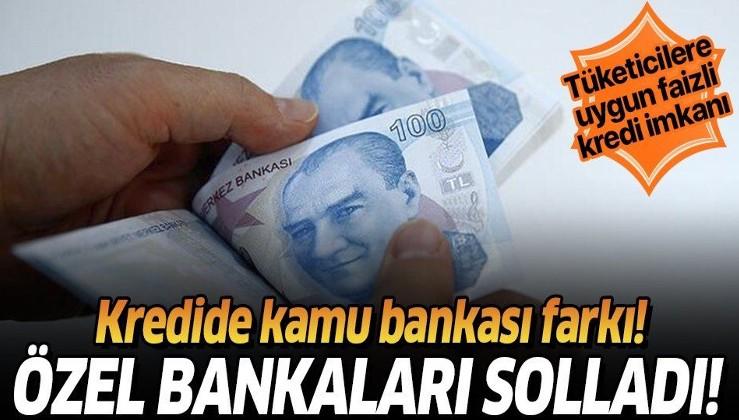 Kamu bankaları kredide özel bankaları solladı! Tüketicilere uygun faizli kredi imkanı