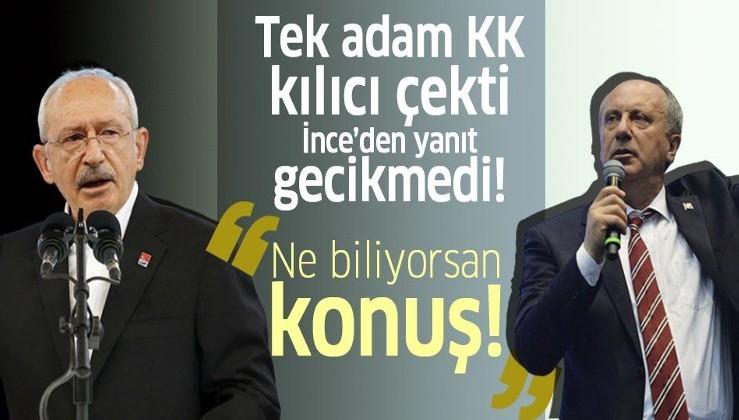 Muharrem İnce'den Kılıçdaroğlu'na tepki: Hangi kanıtınız varsa ortaya koyun