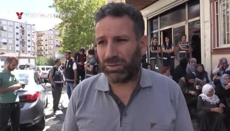 Eylemdeki aile: HDP'liler kafamıza silah dayadı!