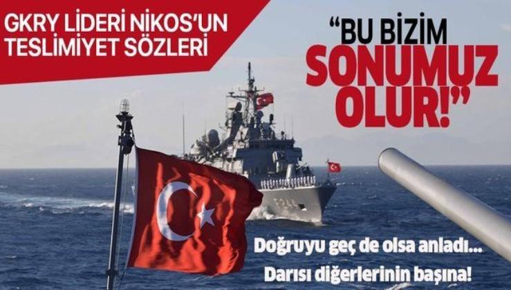 GKRY lideri Nikos Anastasiadis'ten Türkiye'yle savaş açıklaması: Sonumuz olur