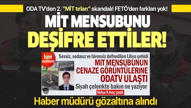 ODA TV MİT üyesini deşifre etti Haber Müdürü Barış Terkoğlu gözaltına alındı.