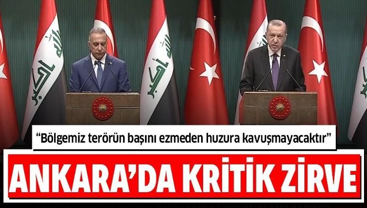 Ankara'dan net mesaj: Ne Türkiye'nin ne Irak'ın geleceğinde bölücü teröre yer yoktur