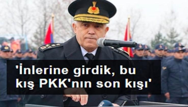 Orgeneral Çetin: İnlerine girdik, bu kış, PKK'nın son kışı olacak