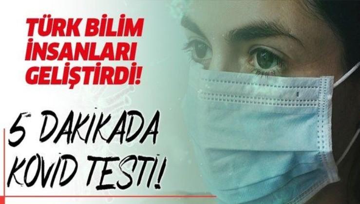 Son dakika: Türk bilim insanları geliştirdi! Gargarayla 5 dakikada Kovid testi!