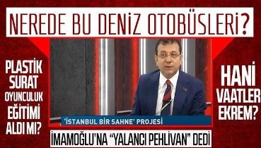 """Tuzla Belediye Başkanı Şadi Yazıcı, İBB Başkanı Ekrem İmamoğlu'na, """"Yalancı pehlivan"""" dedi: Nerede bu deniz otobüsleri"""
