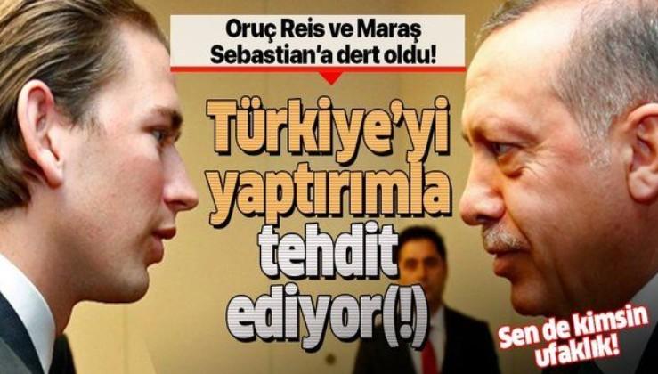 Avusturya Başbakanı Kurz'dan küstah Türkiye açıklaması!