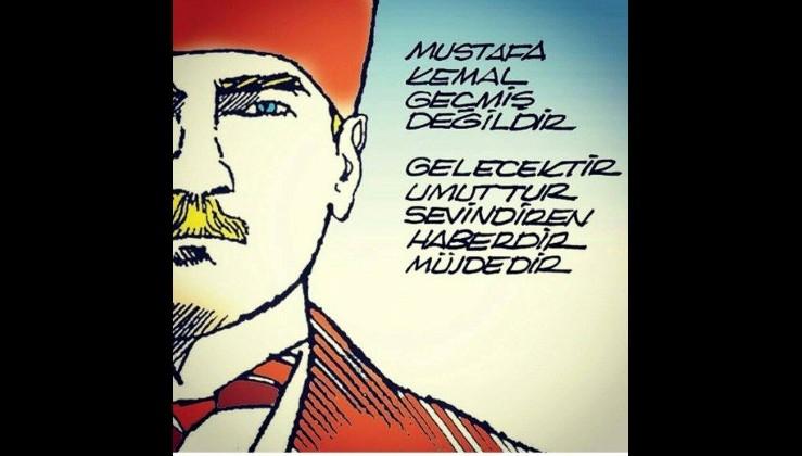 Atatürk karikatürü