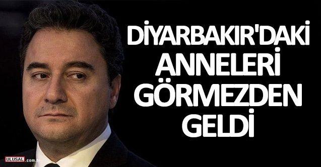 Ali Babacan Diyarbakır'daki anneleri görmezden geldi! İşte HDP sorularına verdiği yanıt