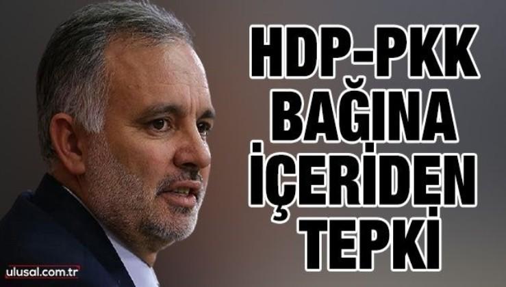 HDP-PKK bağına içeriden tepki