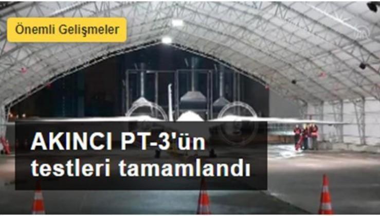 AKINCI PT-3'ün testleri başarıyla tamamlandı