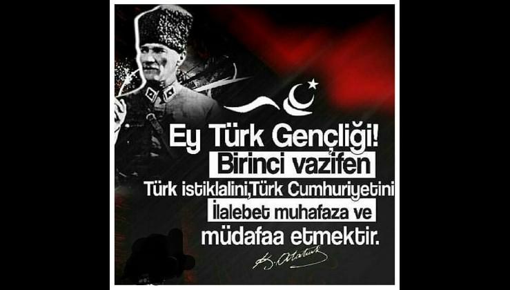 Gazi Mustafa Kemal Atatürk'ün Gençlik üzerine özdeyişleri