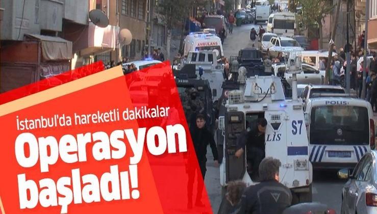 Son dakika: İstanbul Gaziosmanpaşa'da hareketli dakikalar! Polis alarma geçti.