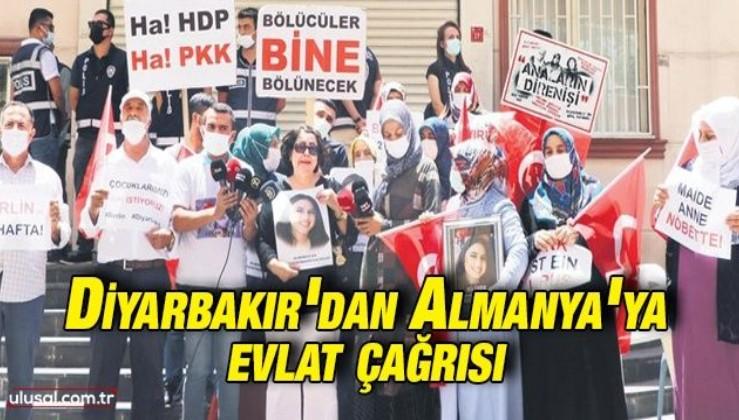 Diyarbakır'dan Almanya'ya evlat çağrısı