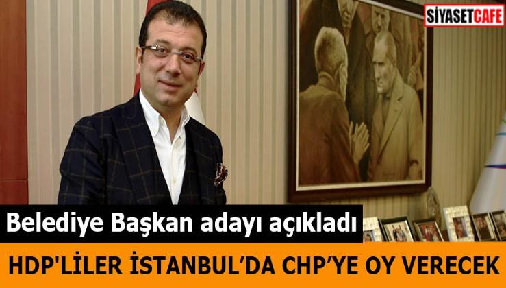 HDP'liler İstanbul'da CHP'ye oy verecek