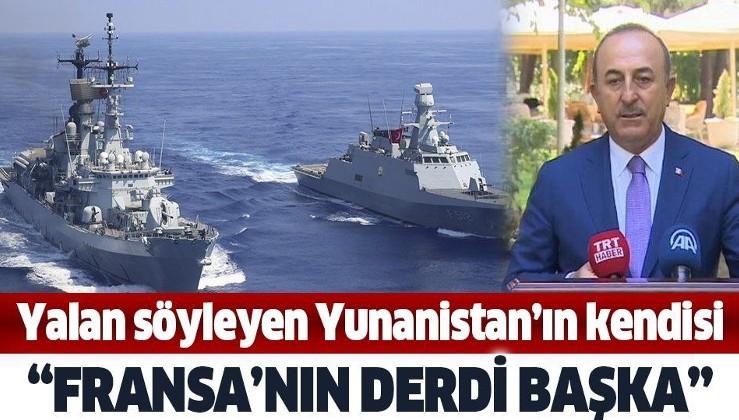 Son dakika: Dışişleri Bakanı Mevlüt Çavuşoğlu'ndan flaş Doğu Akdeniz açıklaması