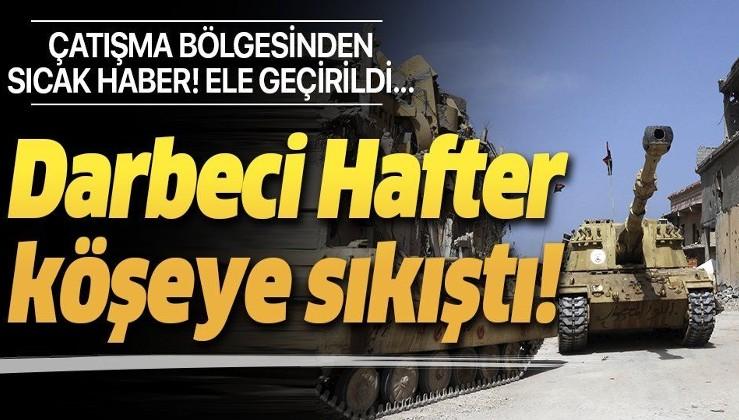 Son dakika: UMH güçleri, Sirte'de Hafter milislerine ait bir tankı ele geçirdi