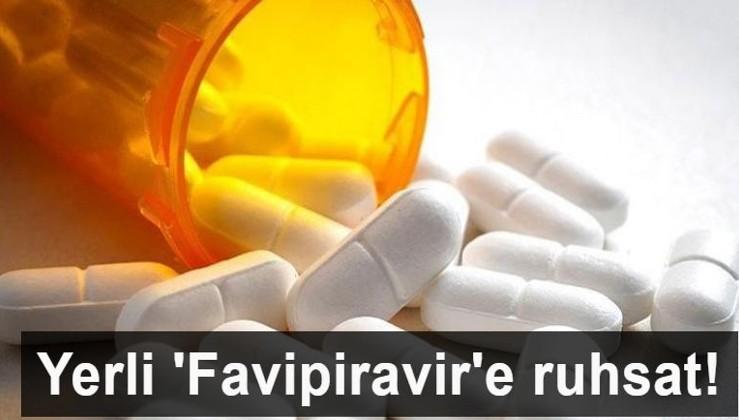 Yerli 'Favipiravir'e ruhsat!