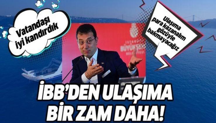 HER ŞEY ÇOK PAHALI OLACAK! Metrobüs, Mmetro, Marmaray derken arabalı vapurlara da zam!