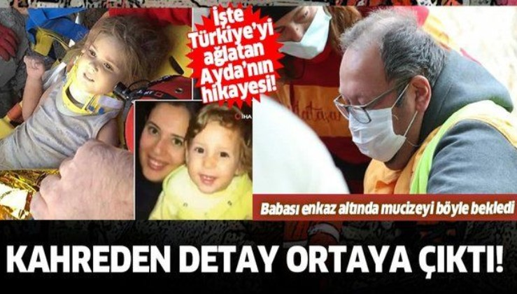 """İzmir'de 91 saat sonra kurtarılan Ayda bebeğin ilk sözü """"Anne"""" oldu! İşte Türkiye'yi ağlatan Ayda'nın hikayesi..."""
