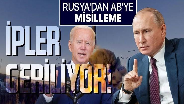 Kriz büyüyor! Rusya'dan ABD'ye yaptırım misillemesi
