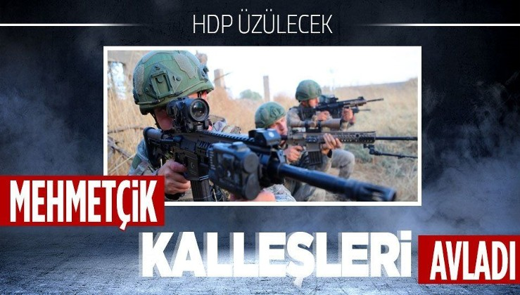 Mehmetçik harekat bölgelerinde terörist avlamaya devam ediyor!