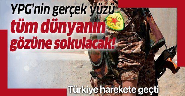 """TRT'den YPG'nin gerçek yüzünü göstermek için """"Syria The Backstage"""" belgeseli!."""