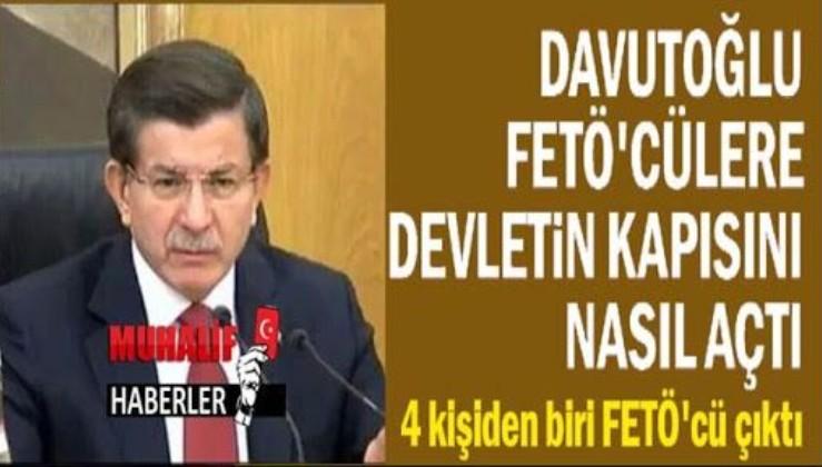 Davutoğlu'nun rolü