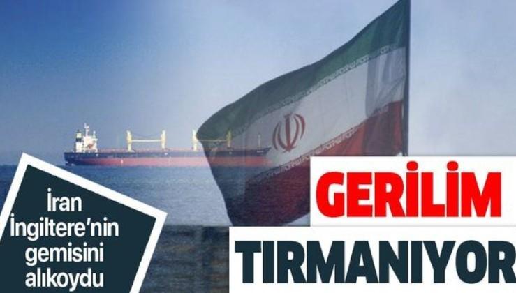 İran duyurdu: Hürmüz Boğazı'nda İngiltere'ye ait bir petrol tankeri durduruldu.