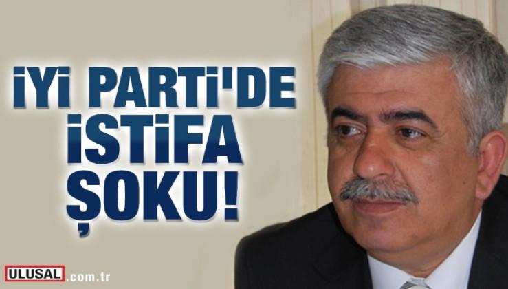 İYİ Parti kurucusu partisinden istifa etti