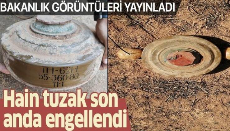 MSB'den son dakika açıklaması: Barış Pınarı bölgesindeki hain tuzak engellendi