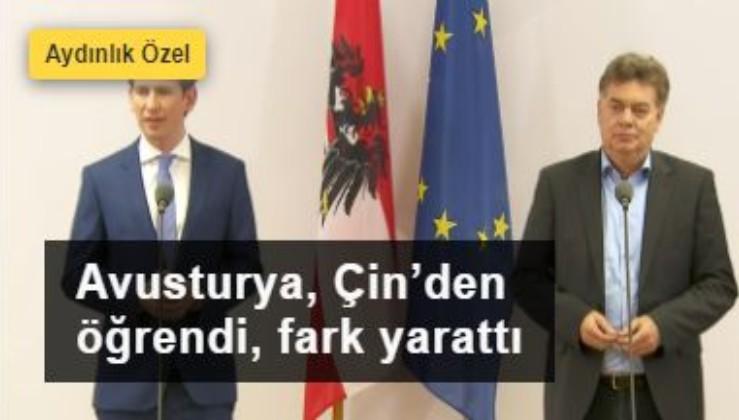Avusturya, Çin'den öğrenerek Avrupa'da fark yarattı