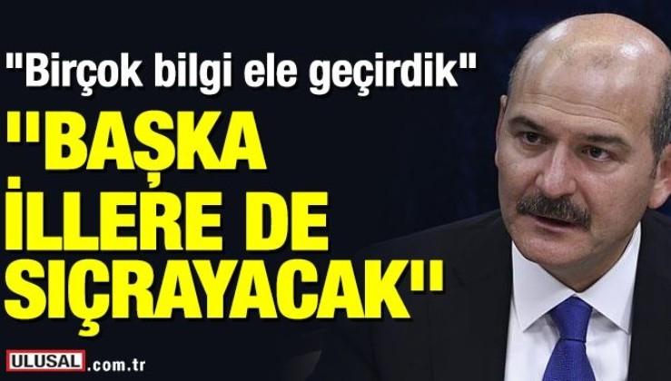 İçişleri Bakanı Soylu'dan HDP açıklaması: Başka illere de sıçrayacak! Birçok bilgiler ele geçirdik