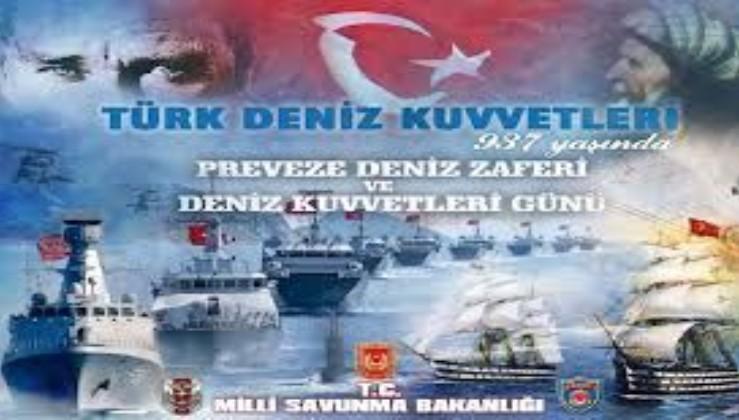 Preveze deniz zaferi ve Türk Deniz Kuvvetleri Günü kutlu olsun. MSB'den anlamlı video!