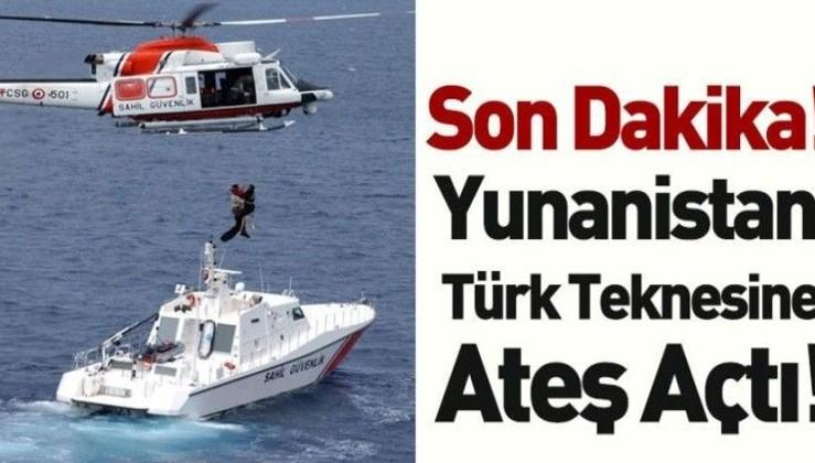 Son dakika haberi! Yunan sahil güvenliği tekneye ateş açtı: 3 yaralı! (Saldırıdan yeni görüntüler)