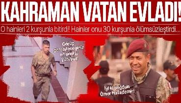 BİRİLERİ VAR: Tarihin akışını değiştiren Şehit Ömer Halisdemir saygı, rahmet ve minnetle.