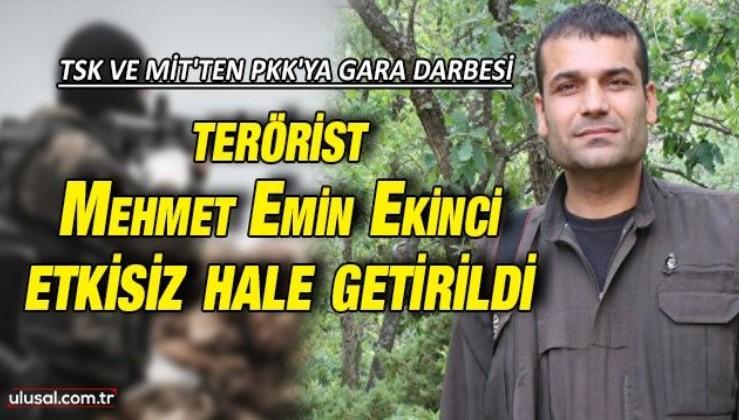 TSK ve MİT'ten PKK'ya Gara darbesi: 'Cevher' kod adlı terörist Mehmet Emin Ekinci etkisiz hale getirildi