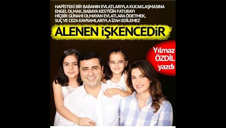 Yılmaz Özdil HDPKK elebaşı Demirtaş'ın avukatlığına soyundu!