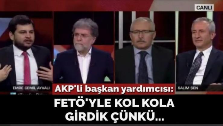 AKP'li başkan yardımcısı: FETÖ'yle yol aldık çünkü…