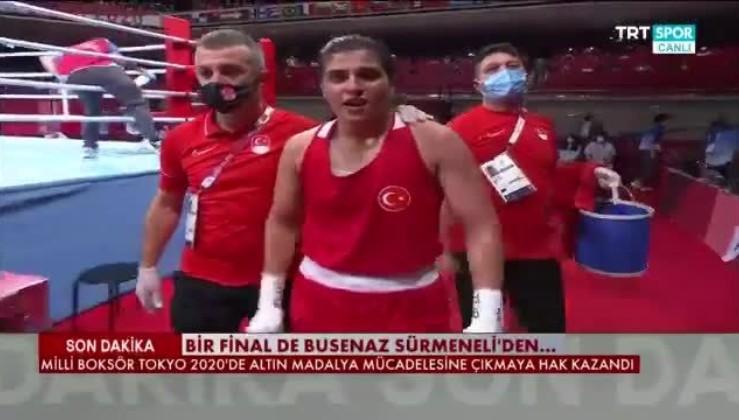 """Boksta Buse Naz Çakıroğlu ve Busenaz Sürmeneli finale yükseldi, PKK'ya mesaj verdi: """"O madalya ülkemize gelecek, yangınları da çıkaranlar bir ölür bin diriliriz."""""""