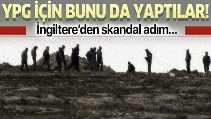 Fransa'nın girişimleri sonuç vermeyince İngiltere YPG/PKK için devreye girdi.