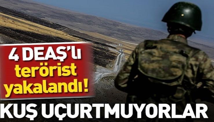 Son dakika... TSK sınırda dört DEAŞ'lıyı yakaladı