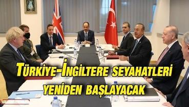 Erdoğan ve Johnson görüştü: İki ülke arası seyahatler yeniden başlayacak