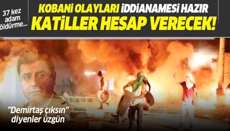 Son dakika: Ankara Cumhuriyet Başsavcılığı'ndan Selahattin Demirtaş dahil 108 kişi hakkında 'Kobani' iddianamesi!