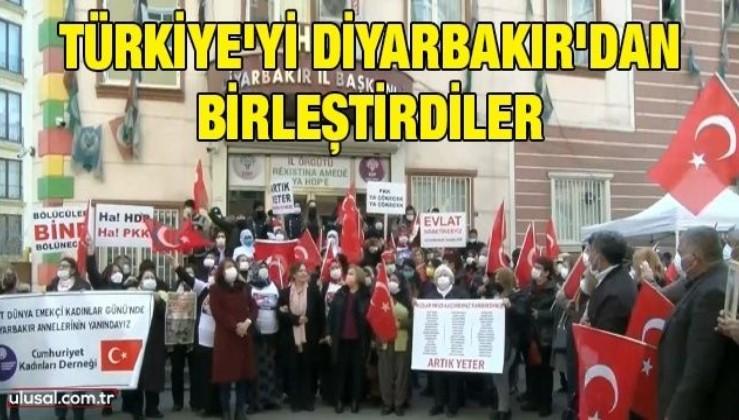 Türkiye'yi Diyarbakır'dan birleştirdiler