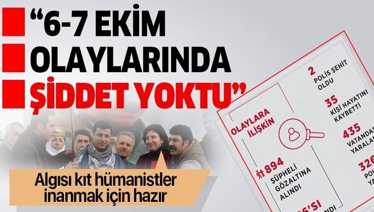 PKK aşığı Demirtaş'tan 37 kişinin öldüğü 6-7 Ekim olaylarına ilişkin skandal açıklama: Şiddet yoktu