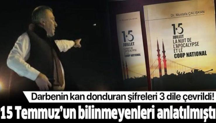 İstanbul Emniyet Müdürü Mustafa Çalışkan 15 Temmuz'un bilinmeyenlerini anlatmıştı!