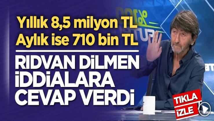 Rıdvan Dilmen TRT ve para iddialarına cevap verdi